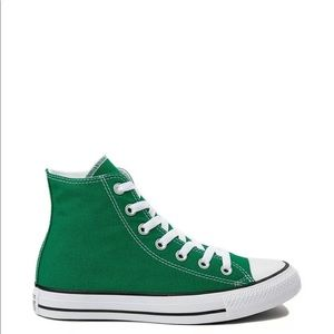 Converse Chuck Taylor High Top Tennis Shoes 8 mint